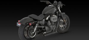 ESCAPES CUSTOM SHORTSHOTS DE V&H PARA SPORTSTER